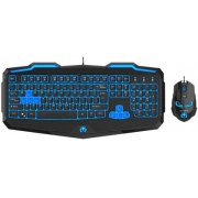 Kit Tastatura si Mouse Newmen Gaming Combo KM-808 (Negru)
