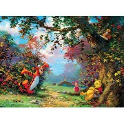 Ceaco Disney Winnie The Pooh Fine Art Poohs Afternoon Nap Puzzle (1000 Piece)