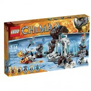 Lego Legends Of Chima 70226 Mammoths Frozen Stronghold Building Kit
