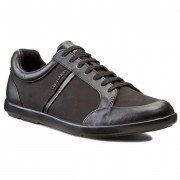 Сникърси CALVIN KLEIN BLACK LABEL - Darwin /Shiny CalfNylon O10993 Black