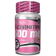 L-Carnitine 500 Mg - Lichidare de stoc! (Expiră la 17.07.2017)