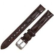 Daniel Wellington 1022DW Womens Classy York Silver 13 mm Brown Leather Band