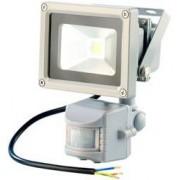 Luminea Projecteur étanche à LED avec capteur PIR - 50 W blanc chaud