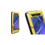 Etuli Love Mei do Sony Xperia Z2 - Żółty