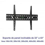 "Soporte de pared inclinable SSP-326N para pantallas de 32"" a 43"""