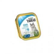 YARRAH (karma dla kotów i psów) (DLA KOTA DOROSŁEGO) KURCZAK Z KAWAŁKAMI RYBY I SPIRULINĄ EKO 100 g - YARRAH