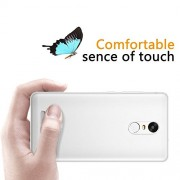 Cables Kart Xiaomi RedMi Note 3 Thin Durable Protective Crystal Clear Hard Pro Transparent Slim Flexible Soft Protection Cover for Xiaomi RedMi Note 3 Back Cover /