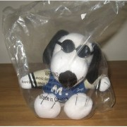 Met Life Joe Cool Snoopy 5 Plush Animal