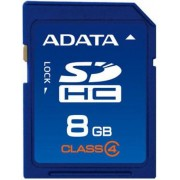 Card A-DATA SDHC 8GB (Class 4)