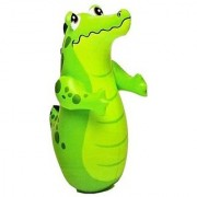 Intex Water Hit Me Inflatable Bouncers - Crocodile (Multicolor)