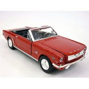 Ford Mustang 1964 1/2 (1964.5) Coupe Scale Diecast Metal Model Red