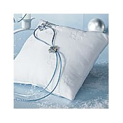 Winter Wonder Square Ring Pillow