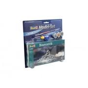 Revell 65802 - Bismarck Kit di Modellismo in Plastica, Scala 1:1200
