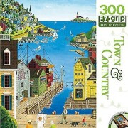 Masterpieces Town & Country EZ Grip A Walk on the Pier Puzzle (300 Piece)