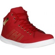 UrbanwhiZ Magnifying Casuals, Corporate Casuals, Canvas Shoes, Outdoors, Sneakers, Boots, Dancing Shoes(Red)