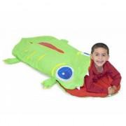 Krokodil slaapzak groen zomer
