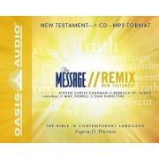Message Remix New Testament-MS by Eugene H Peterson