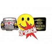 3x Pack Pracky na opasok za skvelú cenu