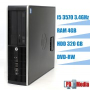 Calculator HP 6300 I5 3570 (6M Cache, pana la 3.80 GHz) 4 GB DDR3 HDD 320 GB DVD-RW USB 3.0