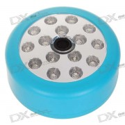 Sound Control Sensor Activated White 15-LED Wall Lamp (3*AA)