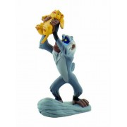 Bullyland 12256 - Walt Disney Re Leone - Rafiki with Baby Simba