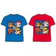 T-shirt Psi Patrol niebieski / czerwony