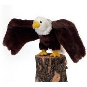 9 Bald Eagle Bird Plush Stuffed Animal Toy by Fiesta Toys