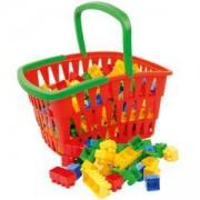 Детски конструктор в голяма кошница - 5914 Mochtoys - 5900747009142