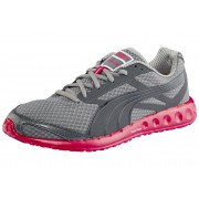 PUMA Faas 400 Women's dark shadow/black/teaberry red 2012 Running