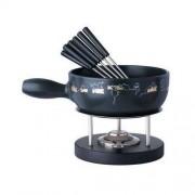 Spring (Germany/Switzerland) MOUSE - zestaw do fondue (garnek ceramiczny 24 cm, 2 l) firmy SPRING