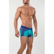 Mundo Unico Asura Short Boxer Brief Underwear Purple/Turquoise 15300853-64