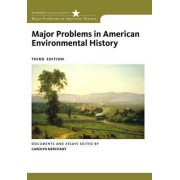 Major Problems in American Environmental History by Carolyn Merchant