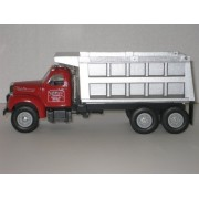 First Gear Die Cast, 19 1973, 1960 B 61 Mack Dump Truck With S. B. Morabito Trucking Company Logo, 1/34th Scale