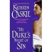 The Duke's Night of Sin by Kathryn Caskie