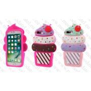 Аpple iPhone 7 Plus (силиконов калъф) 'Ice Cream'