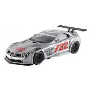 GT Spirit - GT086 - Mercedes-Benz Slr Mclaren 722 GT - 2007 - Échelle 1/18 - Argent