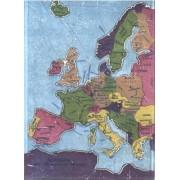 Tracé De La Carte De L'europe Europa