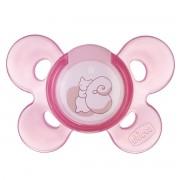 Chicco Chupeta Physio Comfort 0M+ Rosa - Borracha