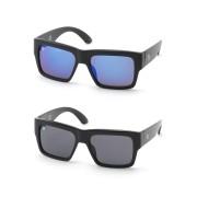 【60%OFF】JUPITER サングラス 2色セット ブラックxブラック&マットブラックxブルーxブラック ファッション > ファッション小物~~サングラス