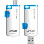 Lexar M20 JumpDrive USB 3.0 - 64GB USB-stick - Wit