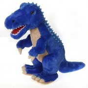 Fiesta Toys Blue T-Rex Dinosaur Plush Stuffed Animal Toy - 18.5 Inches