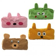 Ultra Cute Expressive Pencil Pouch Case, Any 3 in 1 set
