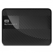 Hard disk extern Western Digital My Passport X 2TB 2.5 inch USB 3.0 Black