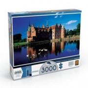 Grow Puzzle 3000 peças Castelo de Egeskov