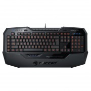 Teclado ROCCAT ISKU FX Iluminado Multicolor Gamer Juegos -Negro