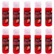 Pack 10 Géis Hot Morango 15ml Soft Love