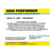 High Performer 5W-30 SAPS C1 Ford+Mazda+Volvo 5 Litres Jerrycans