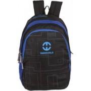 TANWORLD 15 inch Expandable Laptop Backpack(Black, Blue)