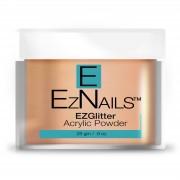EzNails - Acryl - Acrylic Pastel Glitter Colored Powders - Cantaloupe - 28 gr
