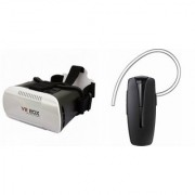 QWERTY VR Box And Bluetooth Headset (HM1100 Headset) for SONY xperia z3+ dual